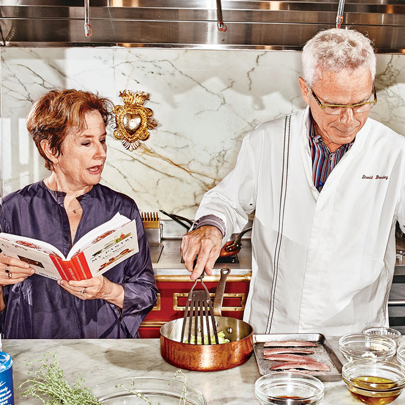 David Bouley and Alice Waters - NY Mag 2015