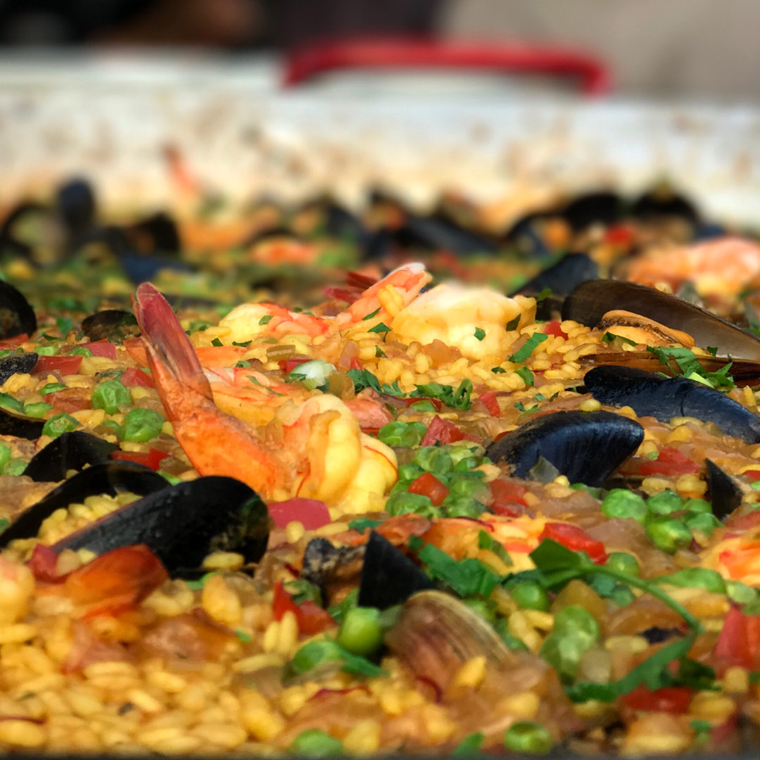 Paella is for Sharing Sunday Cooking Demo Luncheon