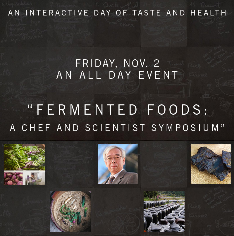 Fermented Foods A Chef and Scientist Symposium