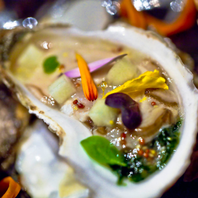 Oysters and Champagne Celebration in Bouley at Home
