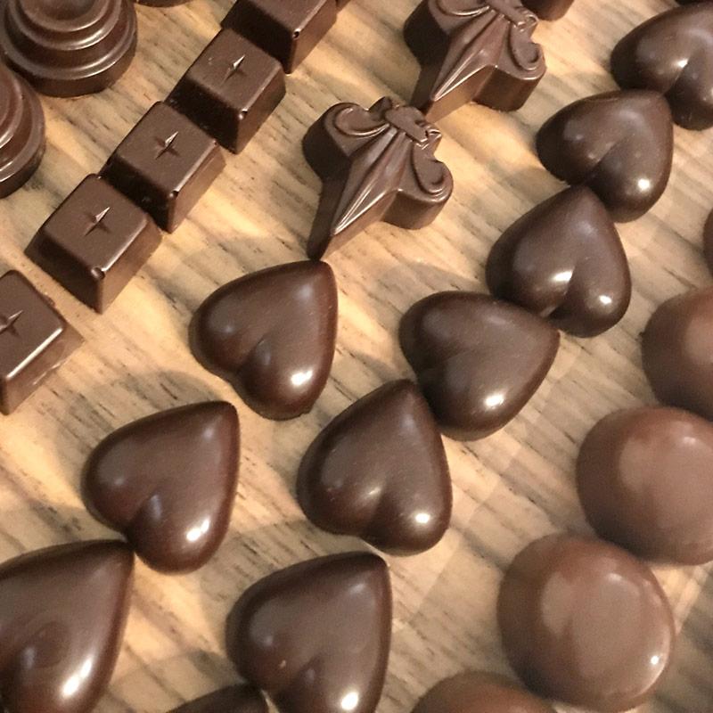 bespoke chocolates by Sarah Bouley