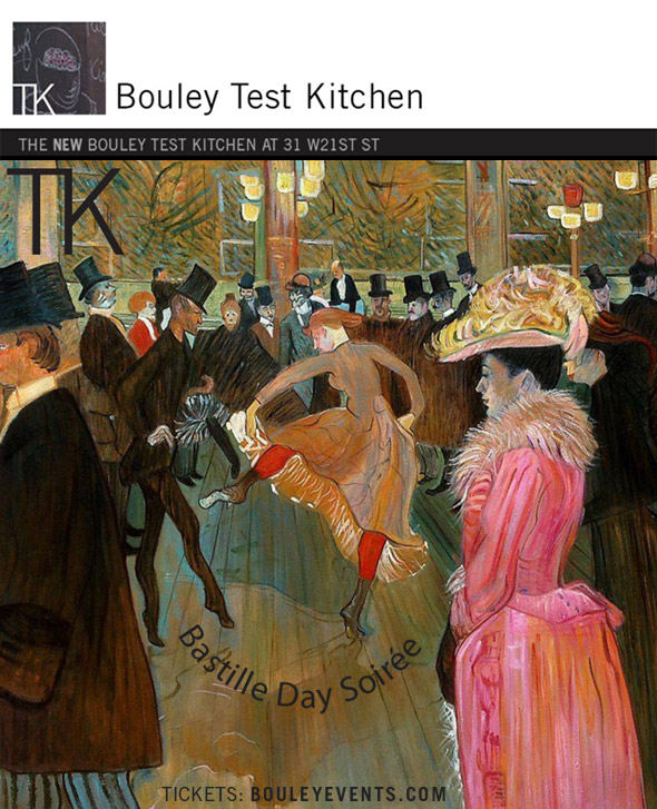 Bouley Bastille Day Soiree